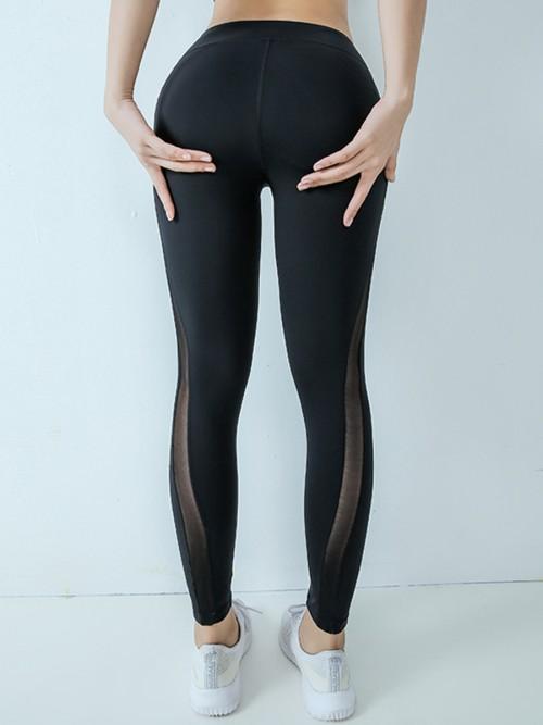 Sweetheart Black High Waist Yoga Legging Lift Butt