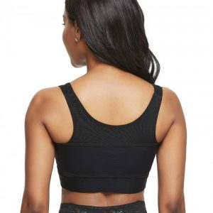 Two-Timing Black Solid Color Shapewear Bar Large Size Contouring Sensation
