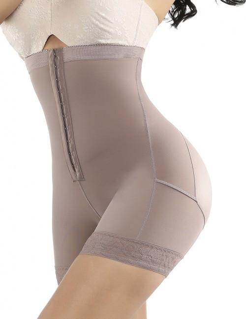 Ultra Brown Queen Size Butt Lifter Lace Hemline Hooks Best Materials