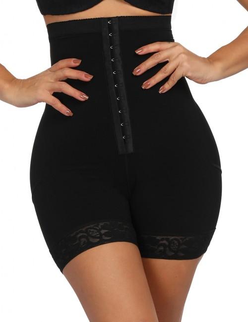 Ultra Black Queen Size Butt Lifter Lace Hemline Hooks Best Materials