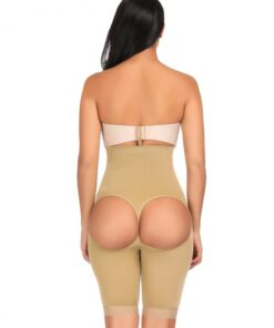 Waist Slimmer Nude Butt Lifter Open Back Cincher Gridle Panties